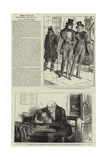 People I Have Met, the Spendthrift Reproduction procédé giclée par Frederick Barnard