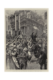 Easter Eve at the Holy Sepulchre, the Arrival of the Sacred Fire Giclee Print by Frederic De Haenen