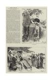 People I Have Met, the Chaperon Reproduction procédé giclée par Frederick Barnard