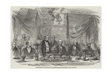 The Banquet to Vice-Admiral Sir Charles Napier, at the Reform Club, Pall-Mall Giclee Print by Frederick John Skill