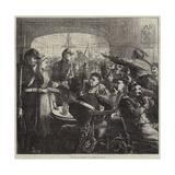 Pour Les Blesses, a Scene at Lyons Reproduction procédé giclée par Frederick Barnard