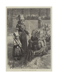 Breton Women at a Pardon Giclee Print by Frederick John Skill