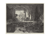 Paris in 1848 Giclee Print by Frederick Goodall
