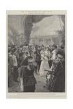 The Coronation of the Czar Giclee Print by Frederic De Haenen