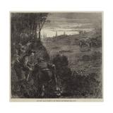 The War, Francs-Tireurs on the Look-Out for Prussians Near Paris Reproduction procédé giclée par Frederick Barnard