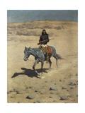 Apache Scout Giclee-trykk av Frederic Remington