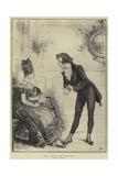 May I Have the Pleasure Reproduction procédé giclée par Frederick Barnard
