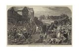 Raising the Maypole Giclee Print by Frederick Goodall