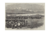 Field-Day with the London Rifle Brigade and Regulars at Chatham Giclee Print by Frederick John Skill