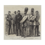 The Volunteer Guards (32nd Middlesex), Generally known as the Six-Foot Corps Giclee Print by Frederick John Skill