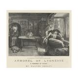 Armorel of Lyonesse, a Romance of To-Day Reproduction procédé giclée par Frederick Barnard