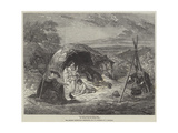 In Sheltry Nooks and Hollow Ways, We Cheerily Pass Our Summer Days Giclee Print by Frederick Goodall