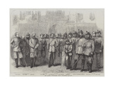 The Queen's Westminster Rifle Volunteers Giclee Print by Frederick John Skill