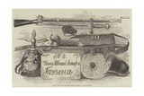 Russian Arms, Etc, from the Alma and Inkerman, and Bomarsund Giclee Print by Frederick John Skill