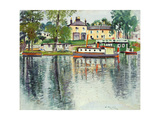 Reflections, Balloch, C.1929-30 Giclee Print by George Leslie Hunter