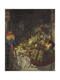 The Burgomaster's Dessert Lámina giclée por George Lance