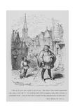 Sir John Falstaff Lámina giclée por George Cruikshank