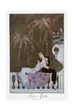 Le Feu Giclee-trykk av Georges Barbier