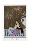 Le Feu Giclee Print by Georges Barbier