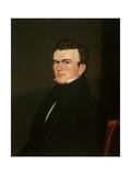 Self Portrait, 1834-35 Gicléedruk van George Caleb Bingham