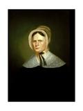 Mrs. Henry Lewis (Elizabeth Morton Woodson) 1838-39 Gicléedruk van George Caleb Bingham