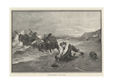 Smugglers Surprised, a Critical Moment Giclee Print by George Edward Robertson