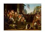 The Verdict of the People, 1854–55 Gicléedruk van George Caleb Bingham