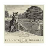 The Mystery of Mirbridge Giclee-trykk av George Du Maurier