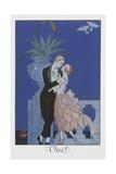Oui Giclee-trykk av Georges Barbier