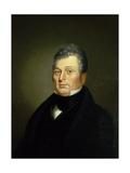 Judge Henry Lewis, 1838-39 Gicléedruk van George Caleb Bingham