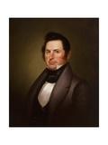 General Richard Gentry, 1837 Gicléedruk van George Caleb Bingham