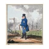 The Way to Bushey, 1820 Lámina giclée por George Cruikshank