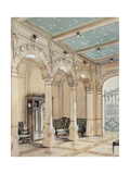 Design for the Entrance of a House, Ca 1900 Giclee Print by Georges Remon