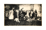 Massacre at Dinant, 1918 Giclee Print by George Wesley Bellows