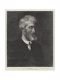 Thomas Carlyle Reproduction procédé giclée par George Frederick Watts