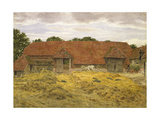 Red Barn at Whitchurch, 1868 Giclee Print by George Price Boyce