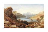 A Loch in Argyll Giclee Print by George Fennel Robson