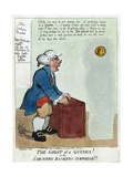 The Ghost of a Guinea! or the Country Banker's Surprise!!, 1804 Giclee Print by George Moutard Woodward