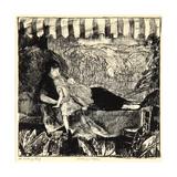 Mother and Children, 1916 Reproduction procédé giclée par George Wesley Bellows