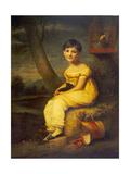 Zoe De Bellecourt, C.1825 Giclee Print by George Watson
