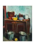 Kitchen Utensils Giclee Print by George Leslie Hunter