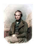 Portrait of Charles Darwin, 1840 Giclee Print by George Richmond