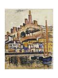 Marseilles Giclee Print by George Leslie Hunter