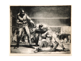 The White Hope, 1921 Giclée-tryk af George Wesley Bellows