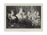 Fair Critics Giclee Print by George Elgar Hicks