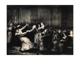 Dance in a Madhouse, 1917 Reproduction procédé giclée par George Wesley Bellows