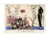 Le Grand Décolletage, 1921 Giclee Print by Georges Barbier