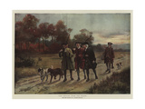The Return from the Chase Giclee Print by George Goodwin Kilburne
