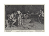 Glasgerion Giclee Print by George Sheridan Knowles