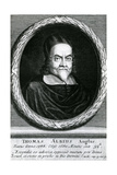 Portrait of Thomas Albius (White) (1588-1680), 1713 Giclée-Druck von George Vertue